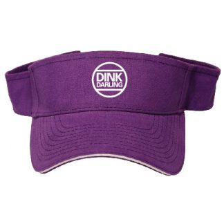 Pickleball Ready Dink Darling Visor - Purple