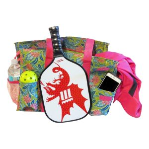 PickleBall Ready Duffle Tote Bag - Pink