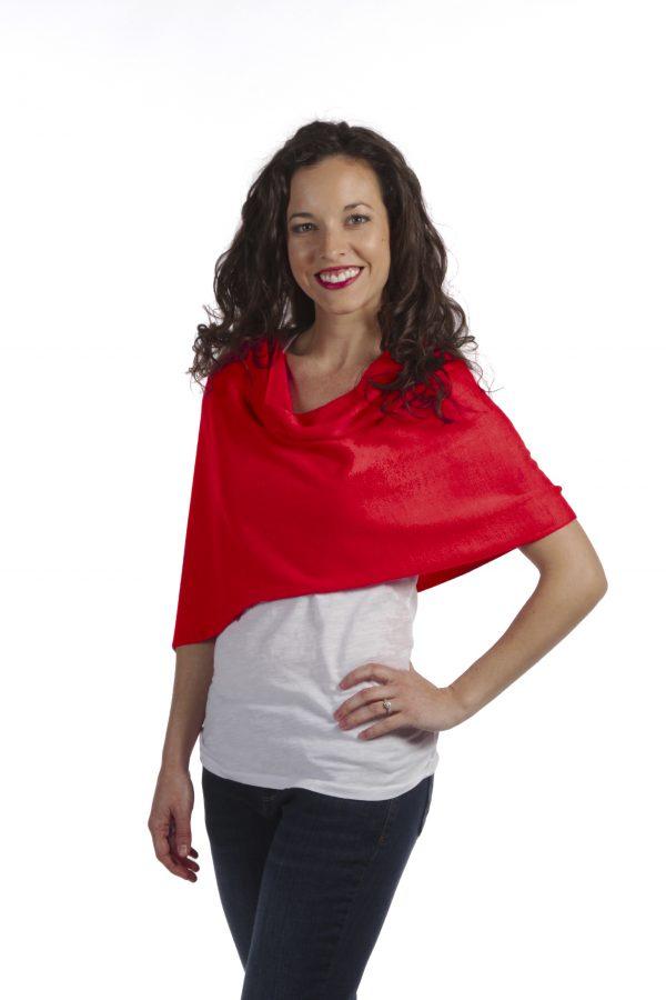 Shawl by SelahV Fashion - Red