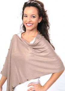 Shawl by SelahV Fashion - Taupe