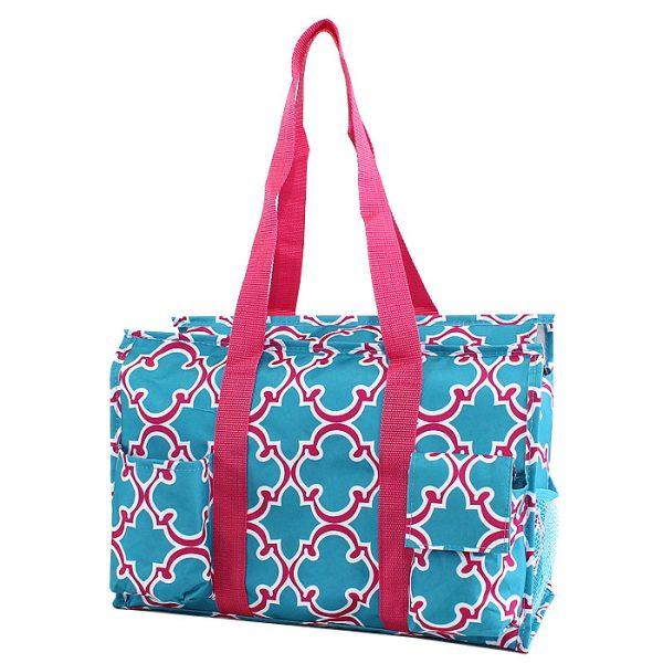 Pickleball Duffle Tote Bag | Blue/Pink