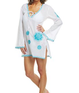 Mud Pie Women's Paisley Cover Up