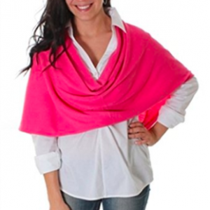 Bordeaux Wrap by Noelle - Pink