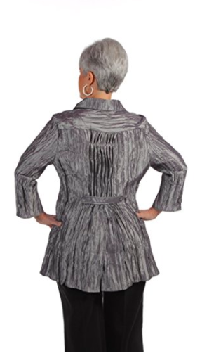 Manhattan Shirt - Pewter - Back View