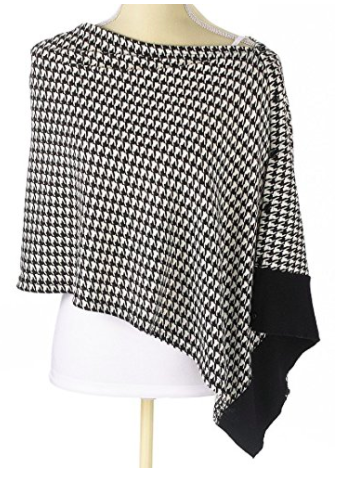 Houndstooth Scarf Wrap - Mannequin View