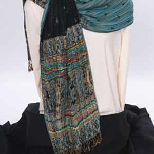 Reversible Scarf - Turquoise