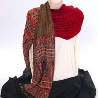Reversible Scarf - Red