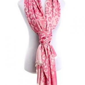 Silk-Feel, Springtime Scarf - Pink