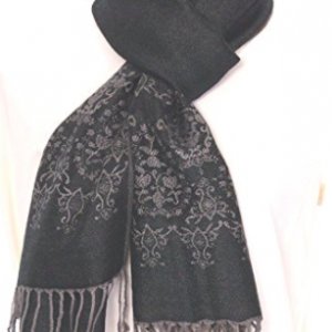 Winter Scarf - Charcoal