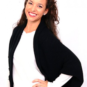 Spring Shawl Shrug - Black