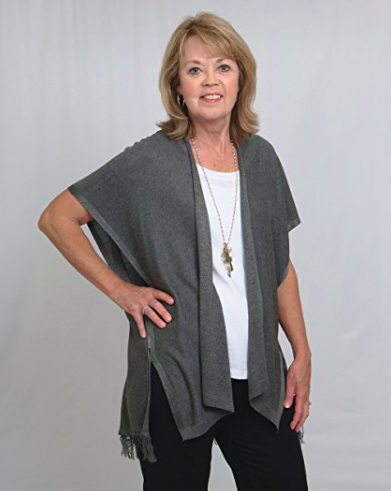Shawl Cardigan Wrap - Side View - Right