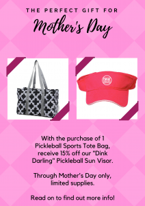Mother's Day Pickleball Sale